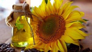El aceite de girasol es uno de los aceites vegetales más populares.