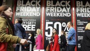 El Black Friday llegará el día 25 a nuestras tiendas