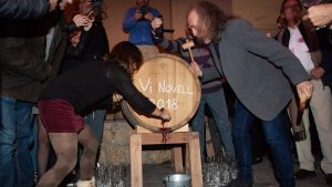 El Celler de Masroig acull més de 700 persones en la Festa del Vi Novell