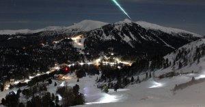 El fenomen vist des dels Alps austríacs
