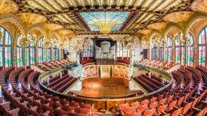 El Palau de la Música de Barcelona obrirà les seves portes el proper 25 de novembre, de 10:00 a 15:00 hores