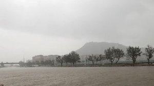 El Xúquer es desborda en la seua desembocadura a Cullera sense produir danys