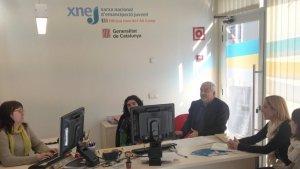 Els joves contractats ocupen llocs de treballs en els departaments de Benestar Social, Joventut i Turisme