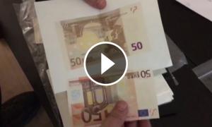 En l'escorcoll als laboratoris s'han trobat gran quantitats de diners falsificats.