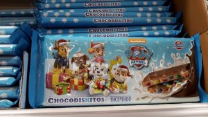 Imagen del turrón de chocolate Chokodiskitos