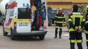 Imatge d'arxiu d'un accident laboral a València