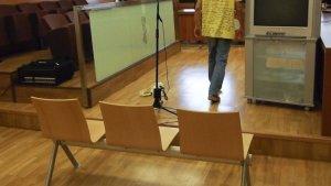 Imatge d'arxiu d'una sala de judici a la Comunitat Valenciana
