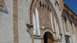 Imatge de la façana de la cooperativa de Vila-rodona