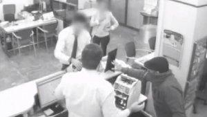 Imatge de l'atracament al banc de Castellbisbal.