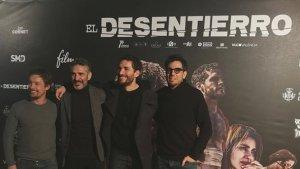 Imatge de l'estrena de la pel·lícula 'El desentierro', la triomfadora de la nit dels premis de l'audiovisual valencià