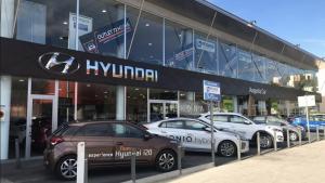 Imatge del concessionari oficial de Hyundai a Reus.