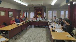 Imatge del Ple municipal d'ahir dimecres, 31 d'octubre