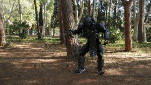 Imatge d'un 'predactor' als boscos del Parc Samà