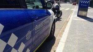 Imatge d'un vehicle de la Guàrdia Urbana de Tarragona