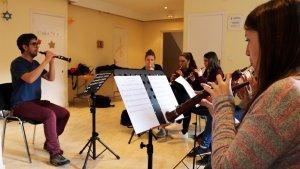 Ja ha començat el nou curs de formació i assajos de gralla de l'Escola de Gralla i Percussió i el grup de Gralles de l'Espluga