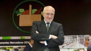 Juan Roig, presidente de Mercadona, ha anunciado que la empresa ha crecido un 4% durante el 2016
