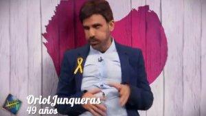 La imitació d'Oriol Junqueras a 'El Hormiguero' no ha agradat a tothom