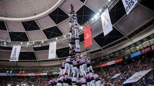 La jornada de diumenge del Concurs de Castells 2018 en imatges