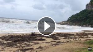 Les conseqüències del temporal a Sant Antoni de Calonge