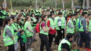 Les imatges de la plantada popular de Repsol al Francolí