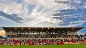 L'Estadi Municipal del CF Reus.