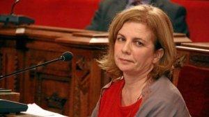 L'única regidora del grup municipal d'ICV a l'Ajuntament de Tarragona, Arga Sentís.
