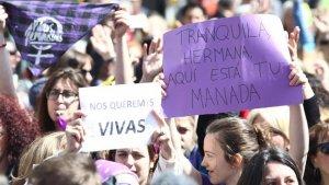 Manifestació contra La Manada