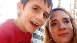 Montse amb el seu fill Daniel en una imatge compartida a les xarxes socials