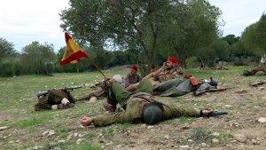Representació a la Fatarella de l'últim combat de la Batalla de l'Ebre