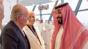 Rey emérito Juan Carlos I y Salmán, en la Fórmula 1