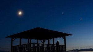 Venus, el tercer elemento más brillante después de la Luna y el Sol