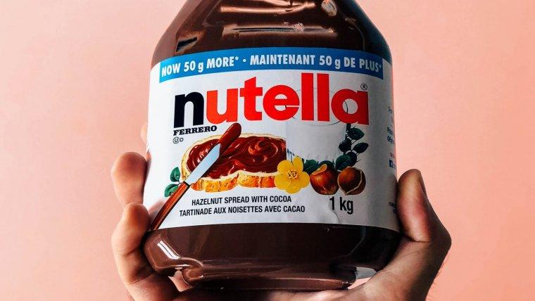 La Nutella es la crema de avellanas y cacao más famosa del mundo y puede prepararse de forma casera.