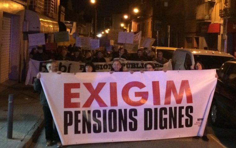 Manifestació per uns serveis públics dignes