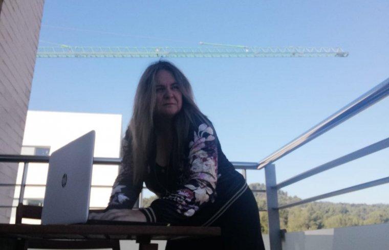 Mer López, membre de Mujeres Creativas del Vallés