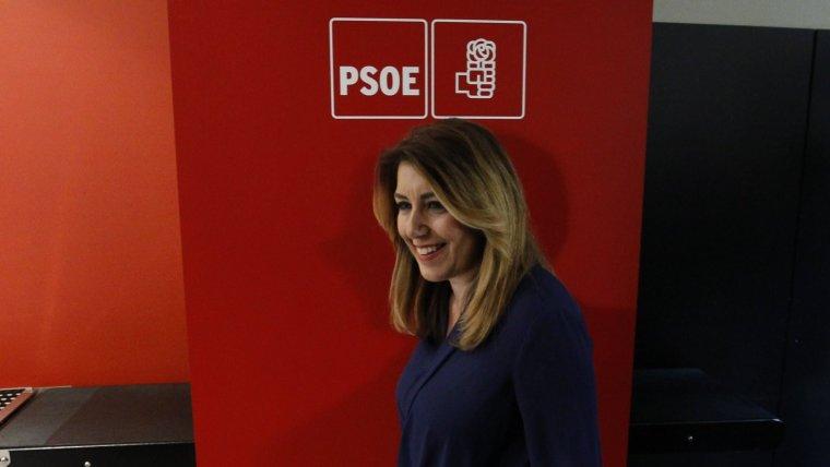 Susana Díaz, presidenta de Andalucía.