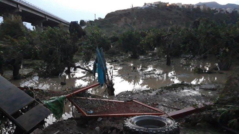 Uns forts aiguats que han succeït aquesta matinada passada han arrassat molts punts de la regió de Palerm