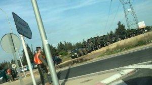 Alguns dels camions anaven equipats amb canons