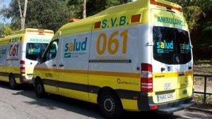 Ambulancia de 061 Zaragoza
