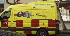 Ambulancia de Murcia.