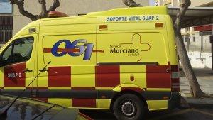 Las asistencias tuvieron que trasladar a tres de los cuatro heridos a dependencias médicas