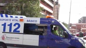 Ambulancia de Pamplona