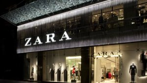 Imagen de archivo de una tienda de la firma de moda Zara