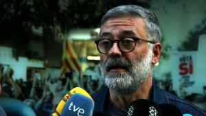 Carles Riera, líder de la CUP, en arxiu