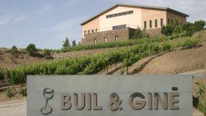 Celler Buil & Giné a la Vilella Baixa
