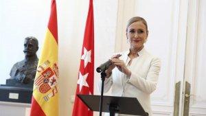 Cristina Cifuentes dimitió de su cargo como Presidenta de la Comunidad de Madrid