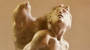 Detall del 'Sant Sebastià', de Damià Forment.