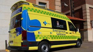 Una herida en una accidente de tráfico en Valladolid
