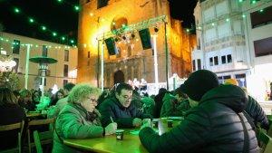 El bingo solidari de Riudoms, el passat cap de setmana a la plaça de l'Església
