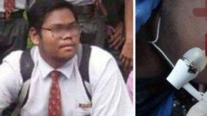 El cuerpo del joven fallecido fue encontrado por su madre