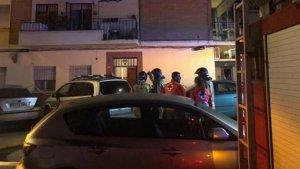 El incendio se ha producido en la calle Zaragoza de la capital pacense